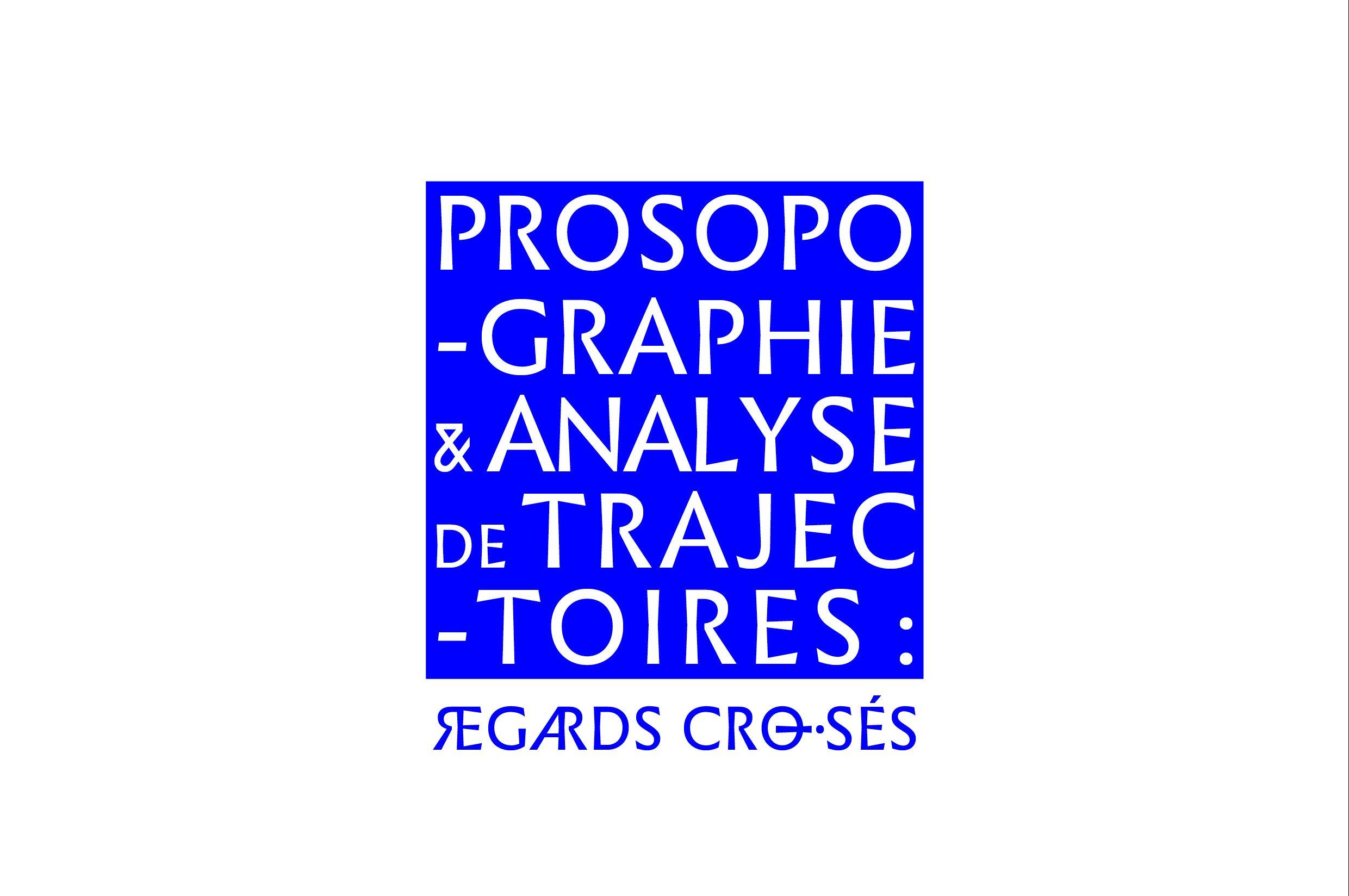 «Prosopographie et analyse de trajectoires : regards croisés»