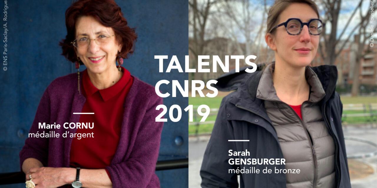 Talents CNRS, deux chercheuses de l'ISP récompensées
