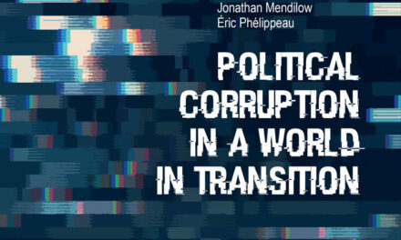 « Political corruption in a world in transition » / J. Mendilow & É. Phélippeau (dir.)