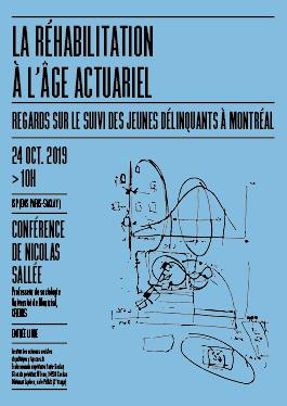 «La réhabilitation à l'âge actuariel» / Nicolas Sallée