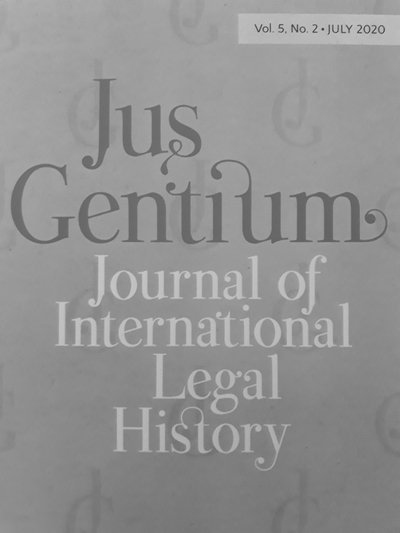 « Histories of International Lawyers between Trajectories, Practices, and Discourses » / Jus Gentium, vol. 5 n° 1 (coord. par D. Kévonian et P. Rygiel)