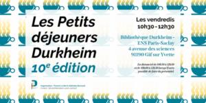 Petits Déjeuners Durkheim 10è édition/ Sarah Gensburger et Gérôme Truc Les mémoriaux du 13 novembre (éditions EHESS, 2020). 8 janvier 2021