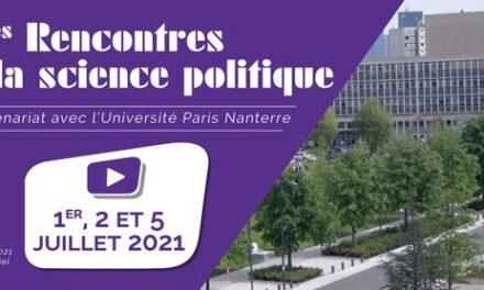 Rencontres de la science politique – 2ème Edition