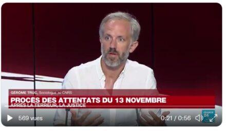 Procès des attentats du 13 novembre. / Gérôme Truc