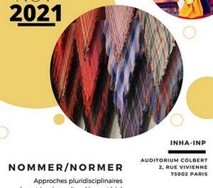 Nommer / Normer – Approches pluridisciplinaires du patrimoine culturel immatériel